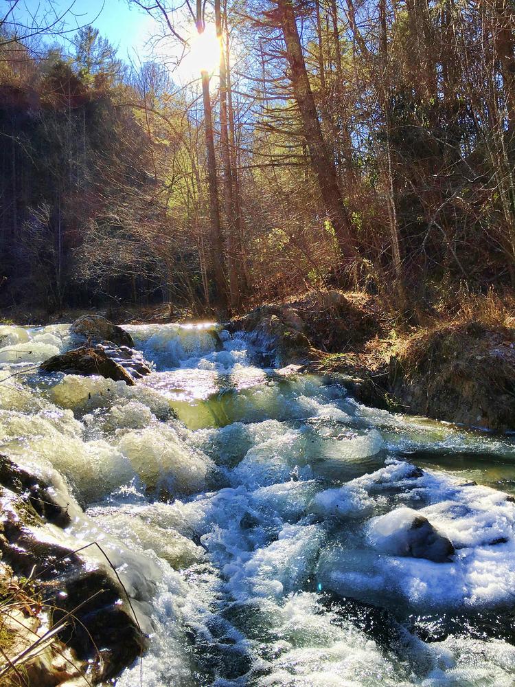 Ice Falls on Goose Creek